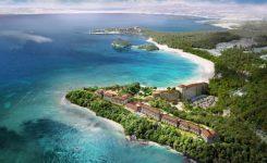 ハレクラニ沖縄 ホテル外観とロケーションイメージ