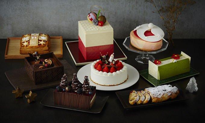 ホテル雅叙園東京のクリスマスケーキ 公式画像