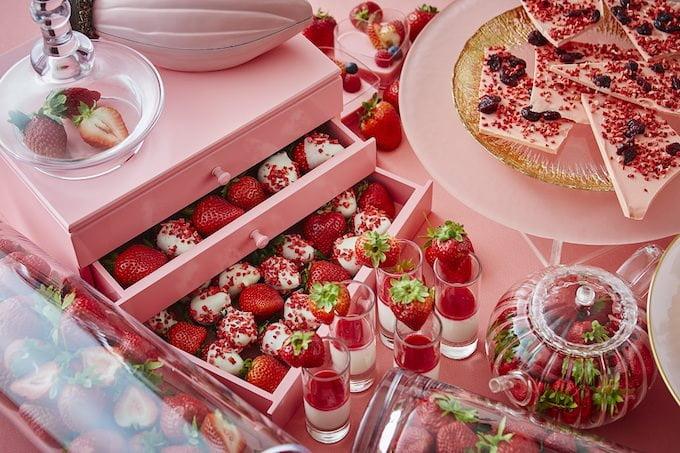 「ストロベリーブッフェ~Berry Lovely Pink~」の料金や時間など詳細