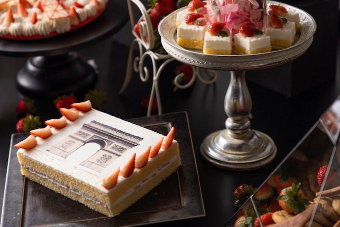 凱旋門 ストロベリーショートケーキ