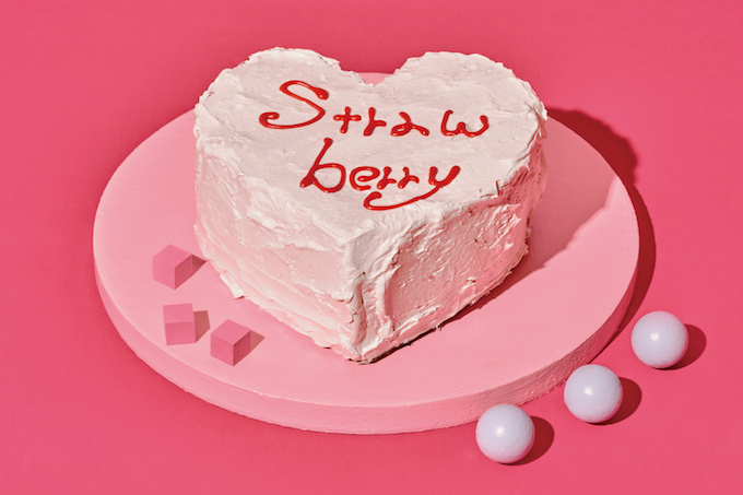 「ストロベリープレイルーム」Very Berryクリームケーキ
