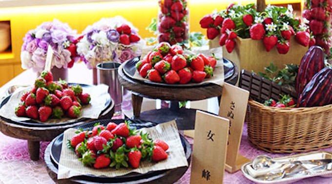 フレッシュ苺 3種食べ比べ