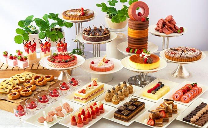 苺スイーツバイキング~苺とショコラの饗宴~ ブッフェ画像