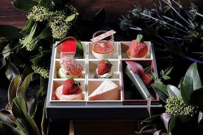 京都センチュリーホテル「SUPER STRAWBERRY FAIR 2020 ~ Five senses ~」 「ボックススタイル」メニュー画像