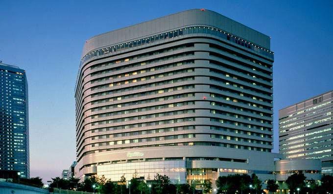 ホテルニューオータニ大阪 ビルの外観