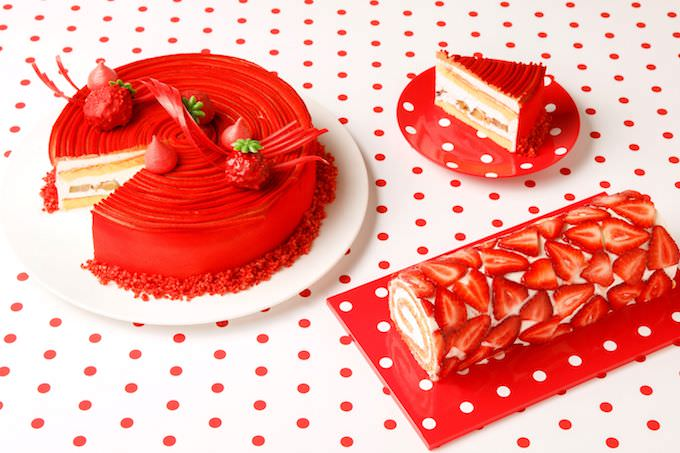 『Only Love Strawberry』メニュー例